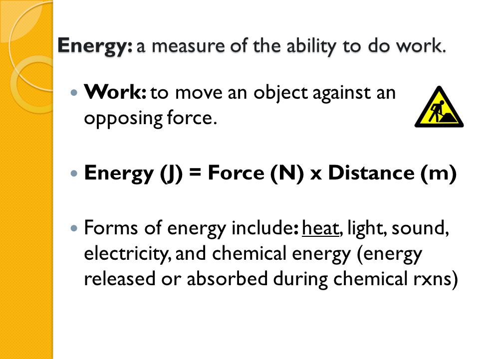 CALCULATION OF ENTHALPY CHANGES (  H) The heat involved in changing the temperature of any substance can be calculated as follows: ◦ Heat energy = mass (m) x specific heat capacity (c) x temperature change (  T) ◦ (Remember q = mc  T from H Chem?)