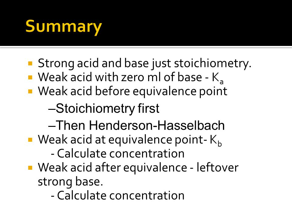  Strong acid and base just stoichiometry.