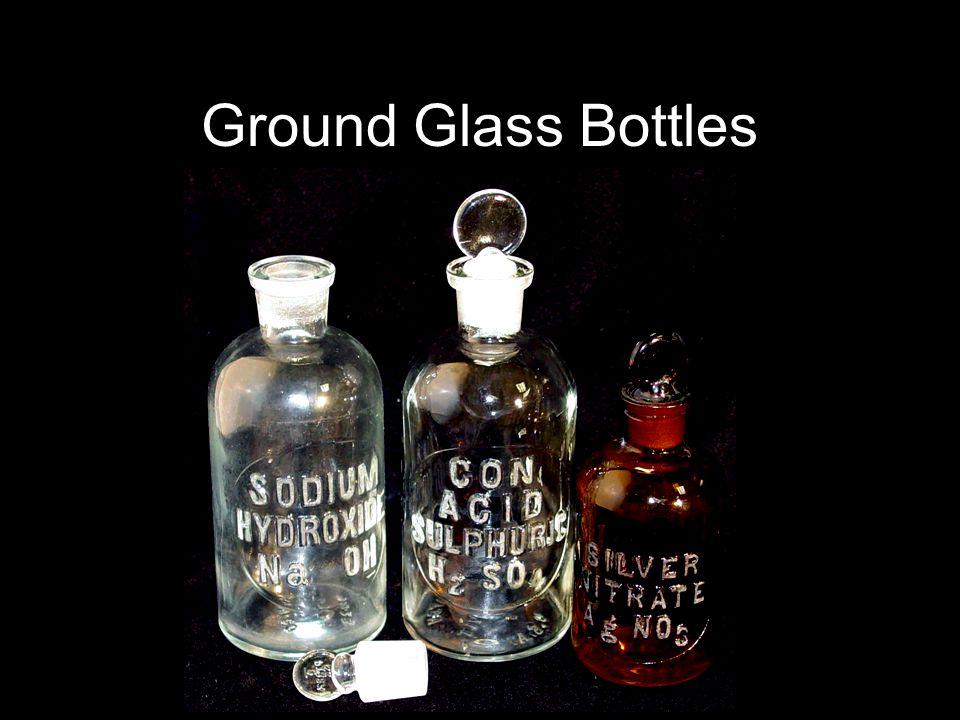 Ground Glass Bottles
