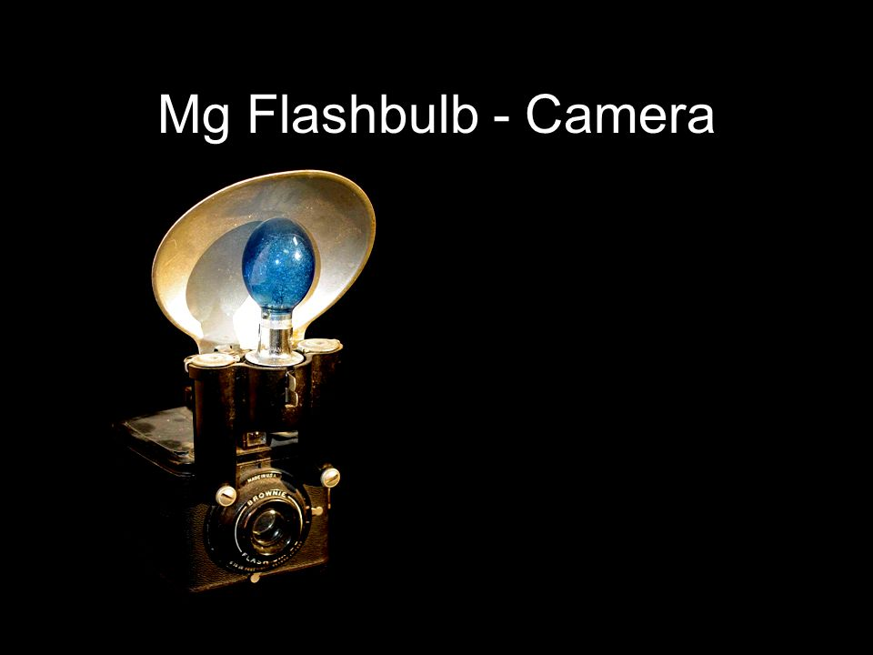 Mg Flashbulb - Camera