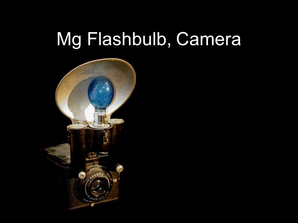 Mg Flashbulb, Camera