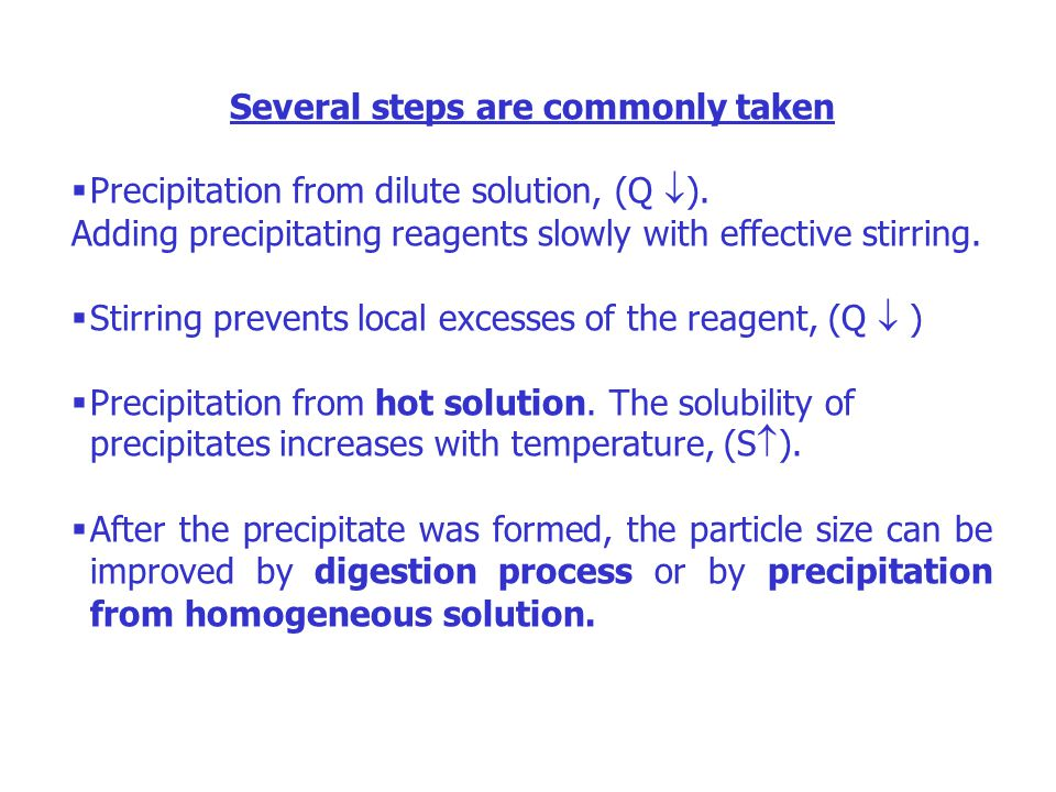 Inclusion A type of co-precipitation in which interferences are incorporated into the precipitating crystal either; (a)As substitute elements on a lattice site or, (b)As extra elements between sites called interstitial.