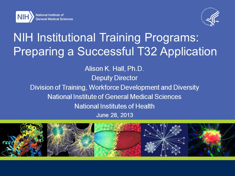 PhD Training Continues to Evolve 2 NIH Regional Seminar June 28, 2013 NIH has supported research training since 1930s fellowships thru the 1950s National Research Service Award 1975 (i.e.