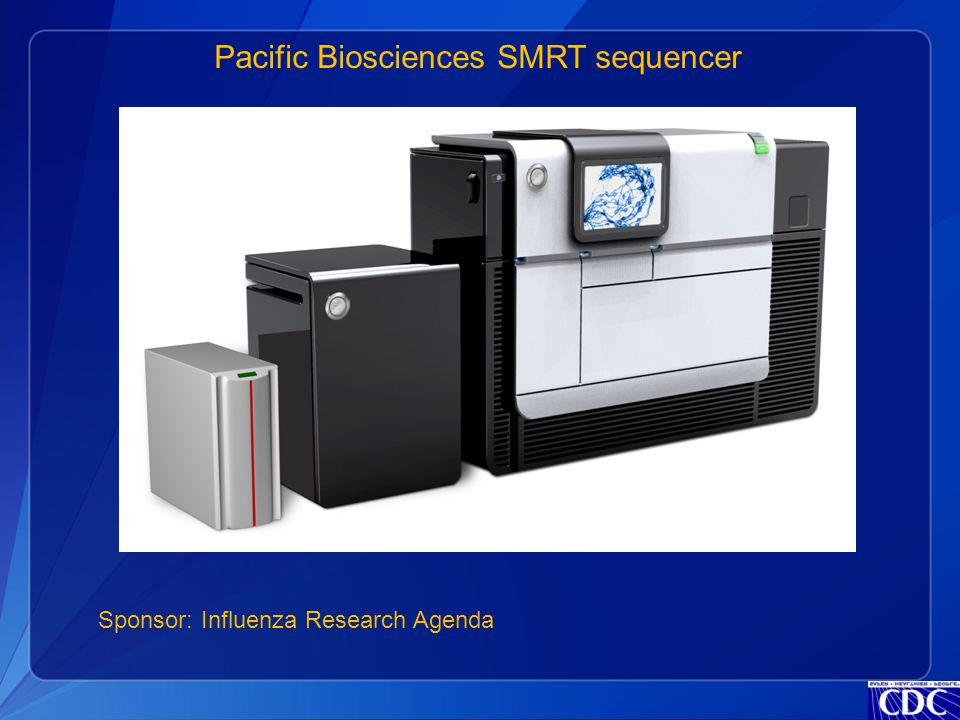 Pacific Biosciences SMRT sequencer Sponsor: Influenza Research Agenda
