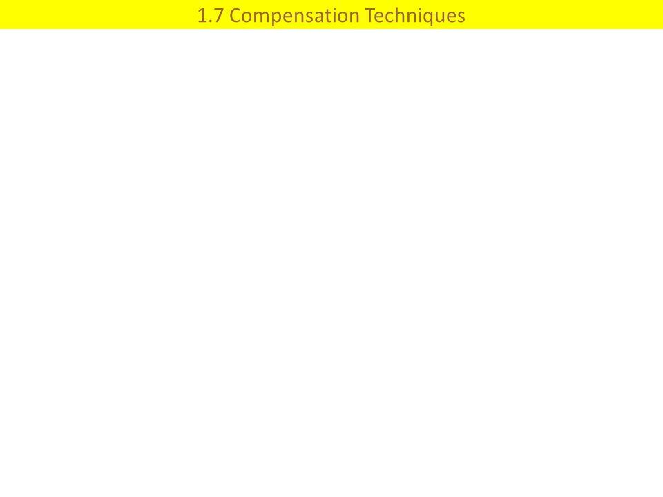 1.7 Compensation Techniques
