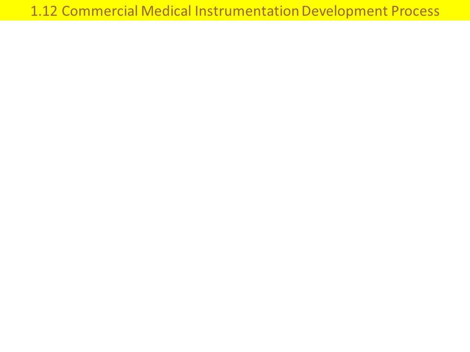 1.12 Commercial Medical Instrumentation Development Process