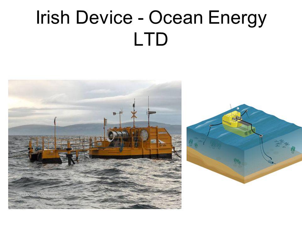Irish Device - Ocean Energy LTD