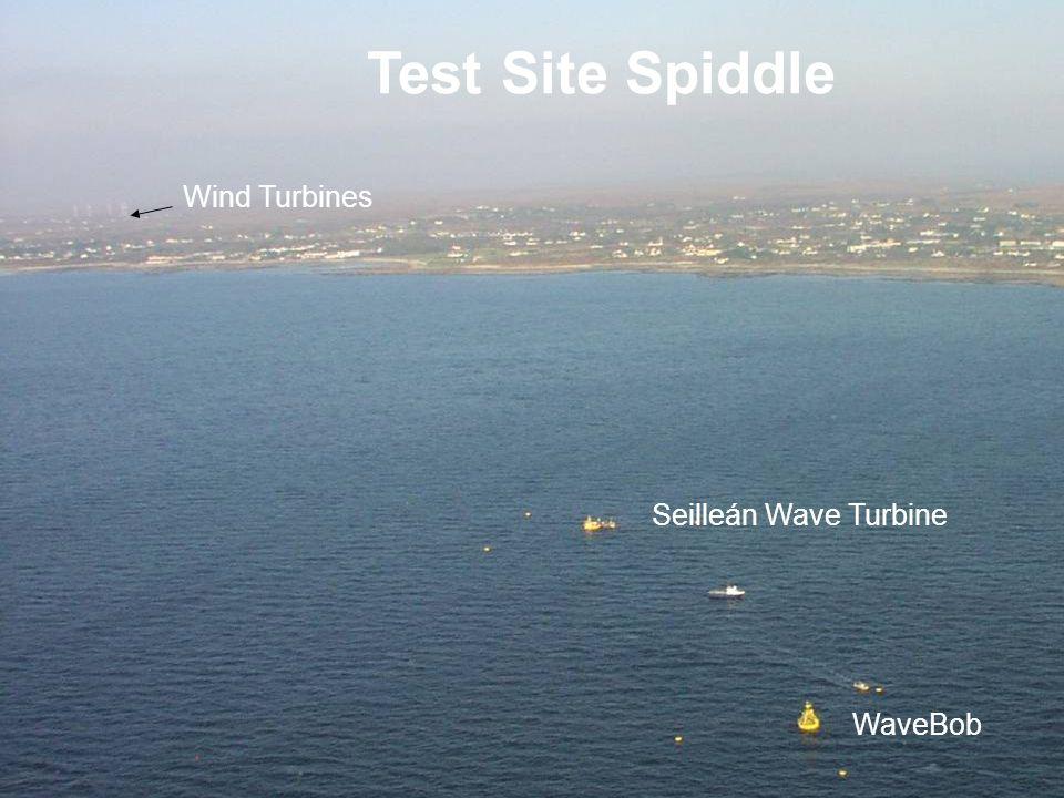 Wind Turbines Test Site Spiddle Seilleán Wave Turbine WaveBob