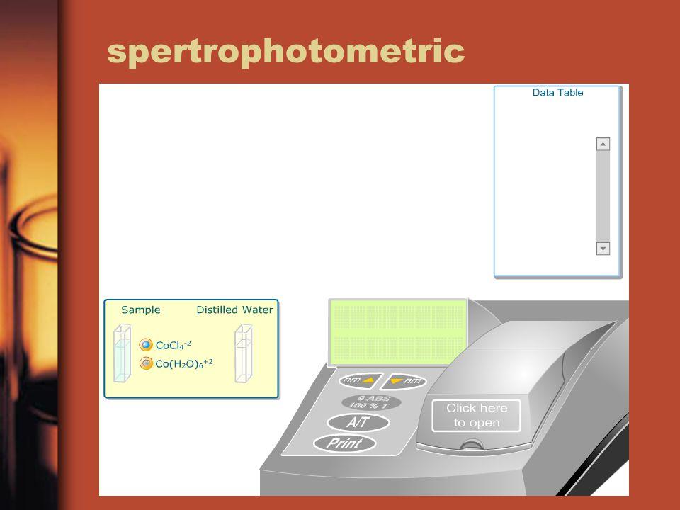 spertrophotometric