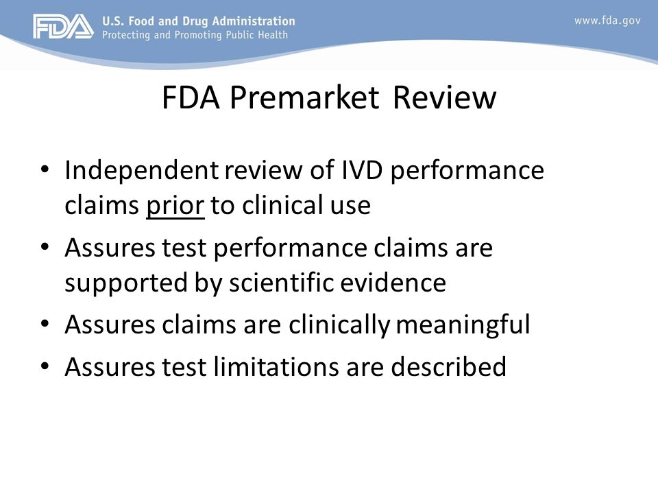 FDA seeking comment on Proposed LDT Framework Info, links, archived webinar available at: www.fda.gov/LDTs www.fda.gov/LDTs 120-day comment period opened Oct 3 Notice of Availability in Federal Register – Points out specific issues for comment Questions.