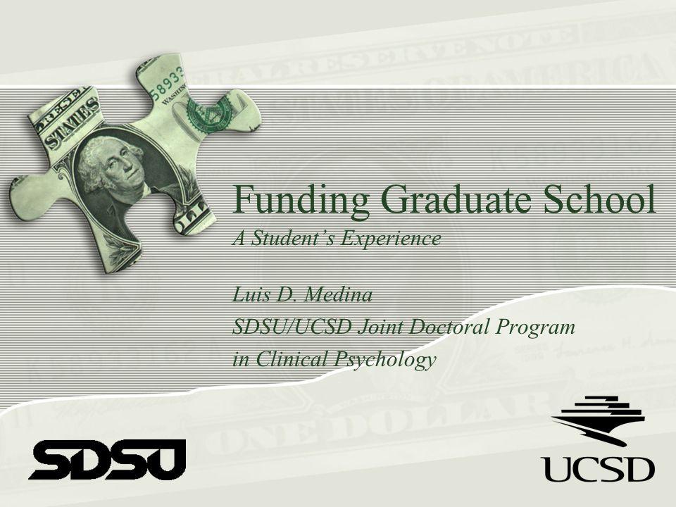 Types of Funding Predoctoral Awards Dissertation Awards NIH Supplements Academic Scholarships Supplemental Awards
