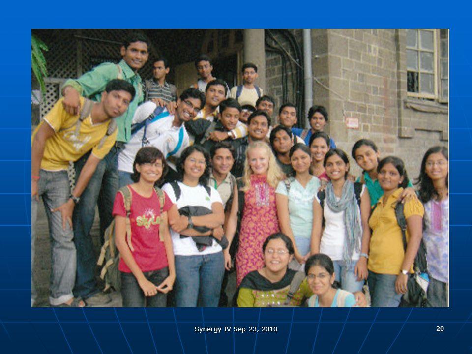 Synergy IV Sep 23, 2010 20