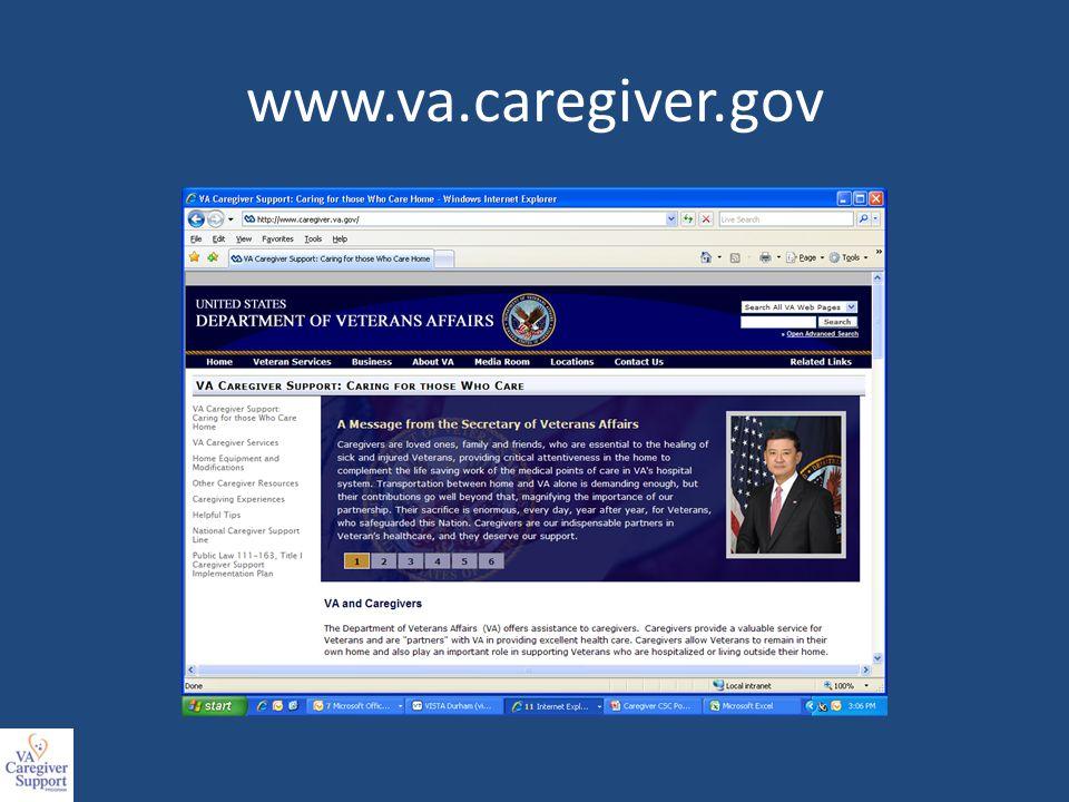 www.va.caregiver.gov