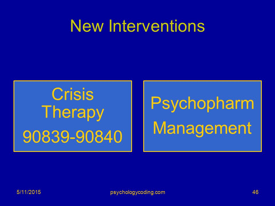 New Interventions 5/11/201546psychologycoding.com