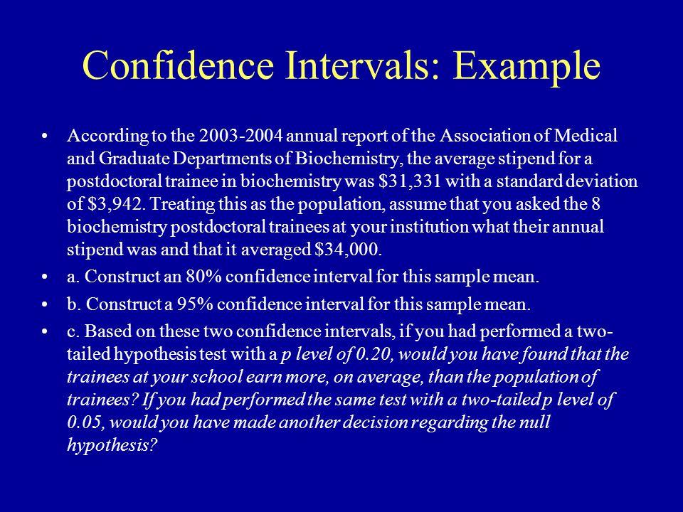 Confidence Intervals: Example 1.Draw a Graph 2.Summarize Parameters 3.Choose Boundaries 4.Determine z Statistics 0 31,331 I 34,000