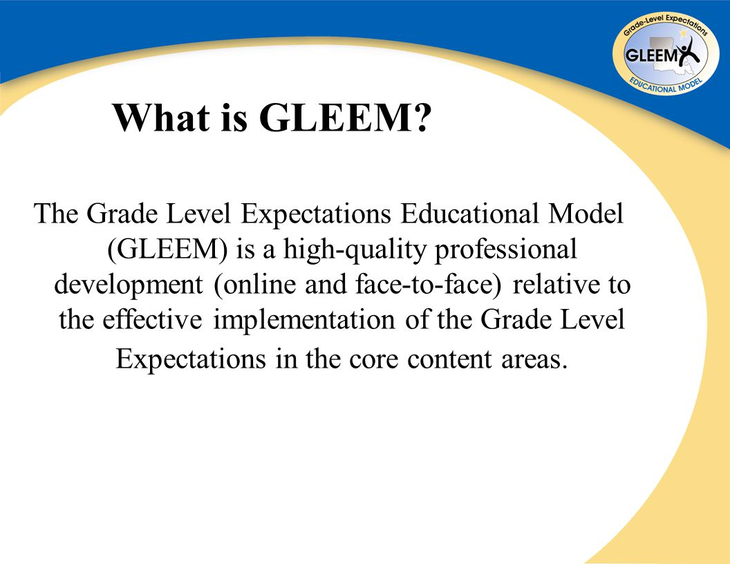 What is GLEEM.