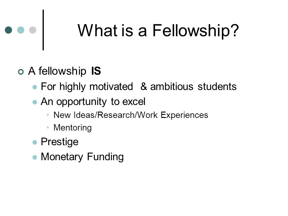 How do I find fellowship opportunities.