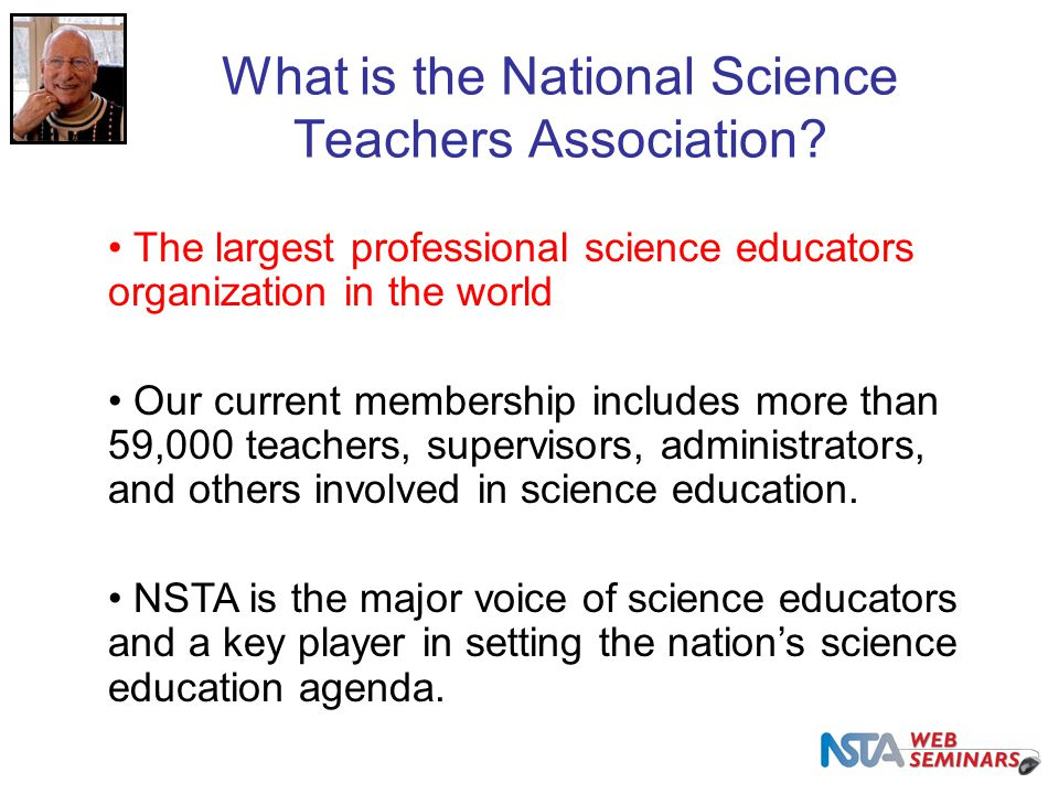 What is the National Science Teachers Association.
