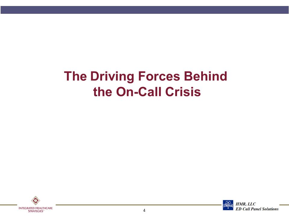 4 The Driving Forces Behind the On-Call Crisis