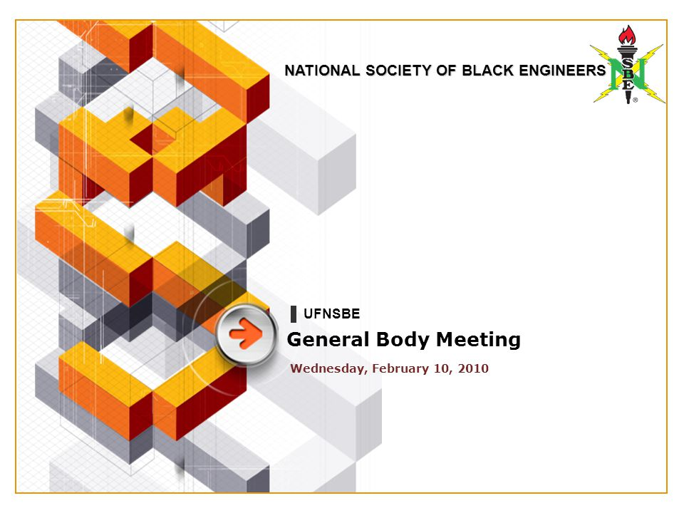 NATIONAL SOCIETY OF BLACK ENGINEERS TOMORROW….