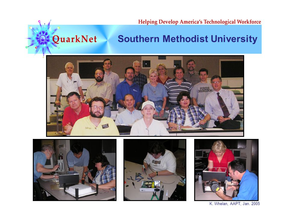 K. Whelan, AAPT, Jan. 2005 Southern Methodist University