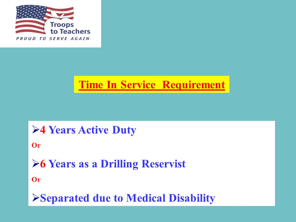 TTT Financial Assistance Eligability  All veterans are eligible for TTT counseling.