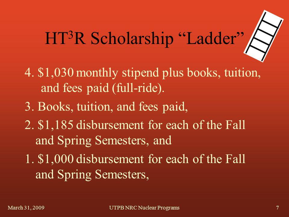 HT 3 R Scholarship Ladder 4.