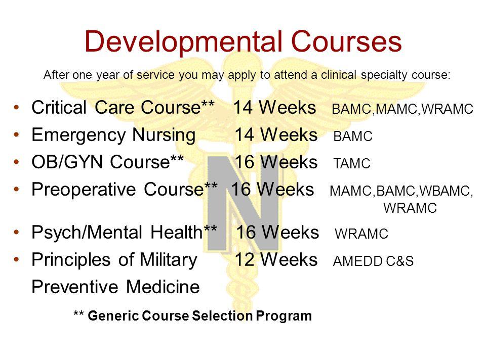 Leader Development Courses Head Nurse Leader Development Course Advanced Nurse Leadership Course Preventive Medicine Program Management Others available - Check AN Branch Website