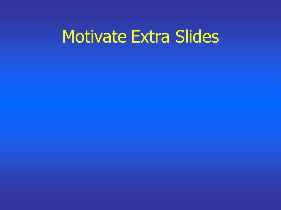 Motivate Extra Slides