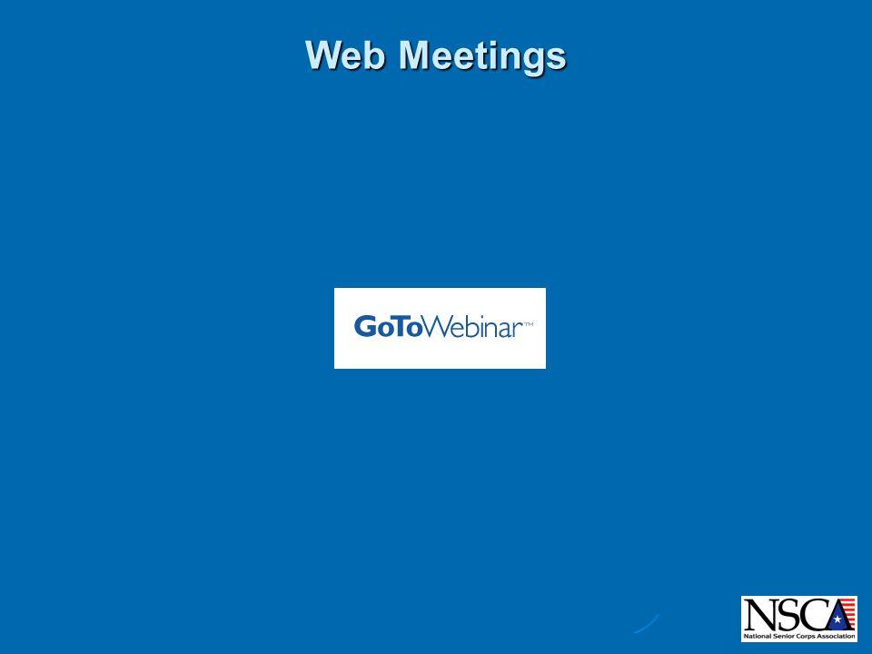 Web Meetings