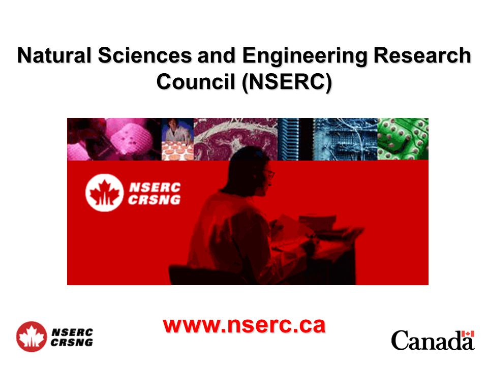 Definitions and Eligibility Principal applicant: –Must be employed by an eligible Canadian institution for the entire duration of the grant –Must be an independent researcher (i.e.