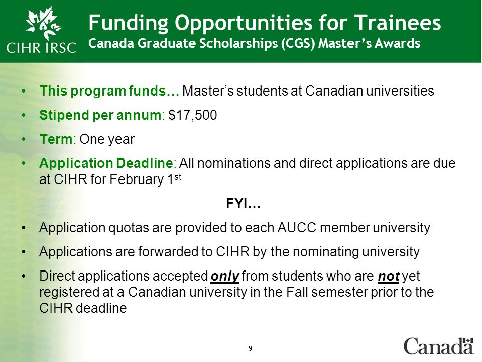 20 Funding Opportunities Overview of HIV/AIDS Priority Announcements Priority Announcements offer additional sources of funding for highly rated applications that are relevant to specific CIHR research priority areas or mandates…in our case HIV/AIDS Research Candidates may request that their application to a core program be considered for up to three priority announcement research areas per application, in each competition
