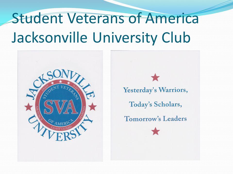 Student Veterans of America Jacksonville University Club