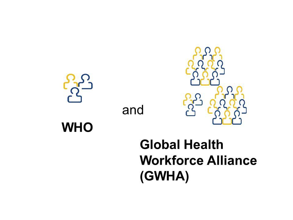 WHO Global Health Workforce Alliance (GWHA) and