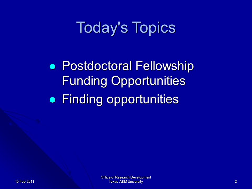 NSF Postdoctoral Research Fellowships in Biology Award tenure 24 or 36 months Award tenure 24 or 36 months Award Budget is composed of stipends ($45,000 year 1), research allowance ($10,000/yr), and institutional allowance ($5,000/yr).