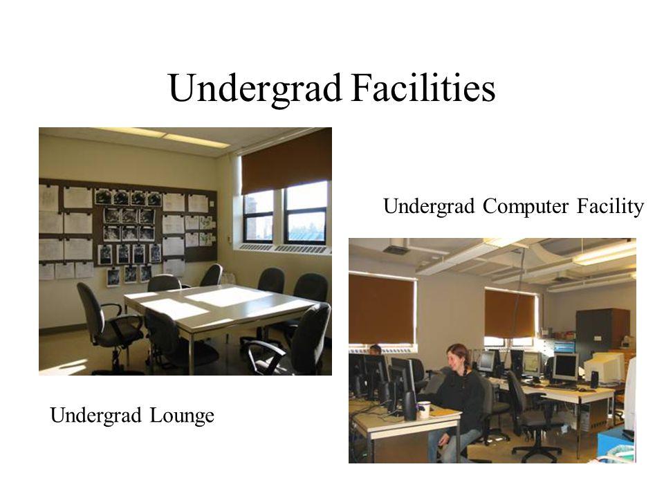 Undergrad Facilities Undergrad Lounge Undergrad Computer Facility