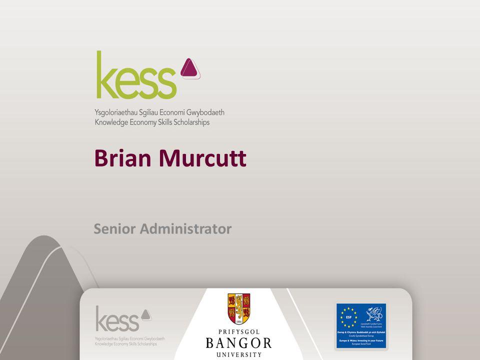 Brian Murcutt Senior Administrator