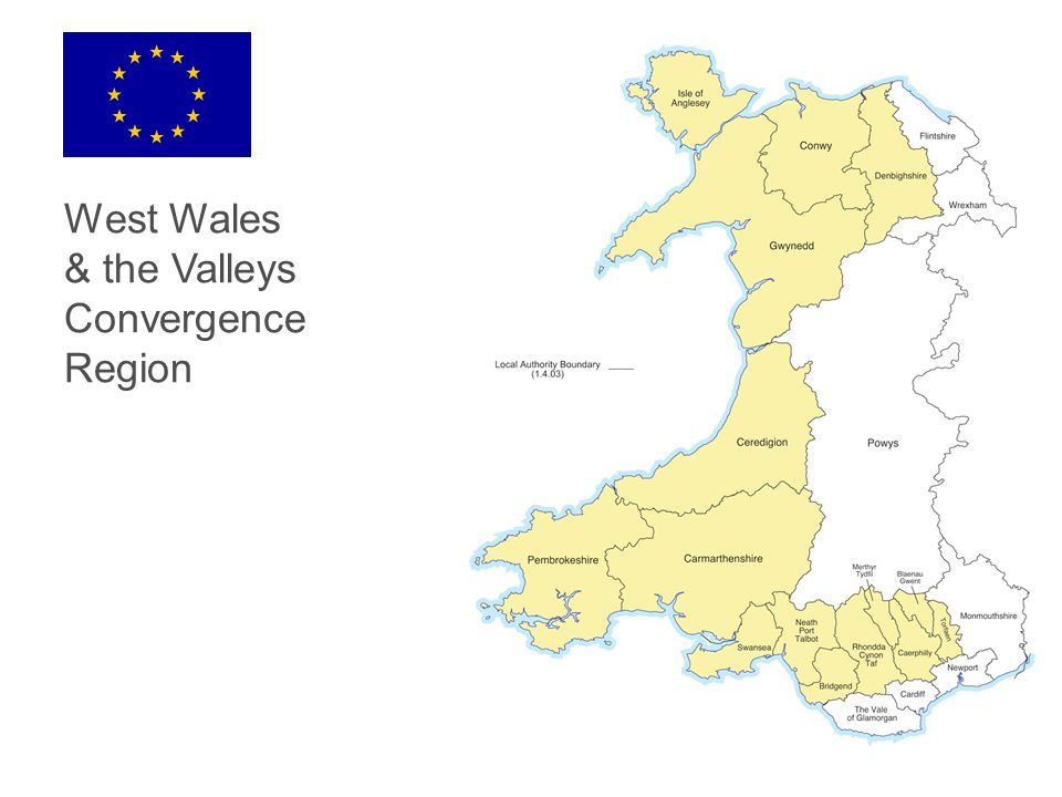 West Wales & the Valleys Convergence Region