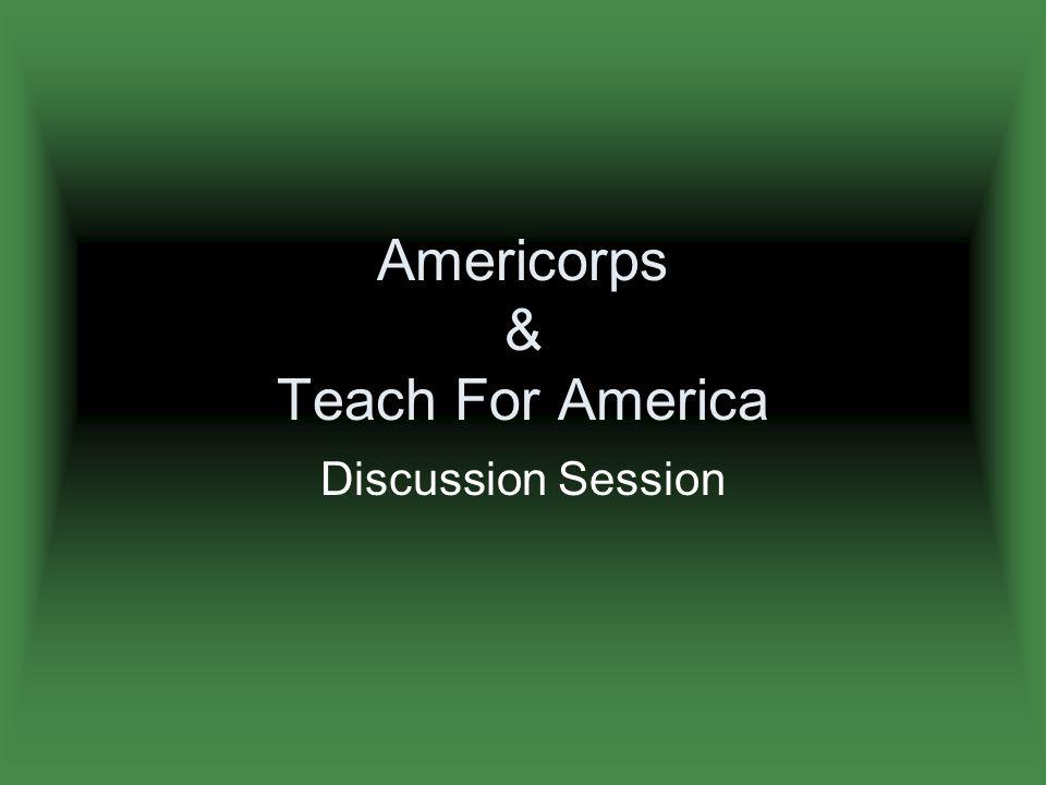 Where Corp Members are teaching: Where would I teach.