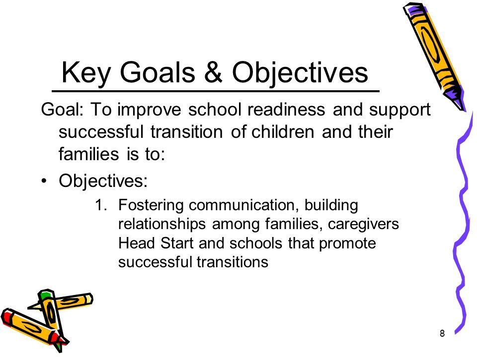 9 Key Goals & Objectives 2.