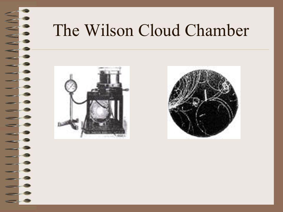 The Wilson Cloud Chamber