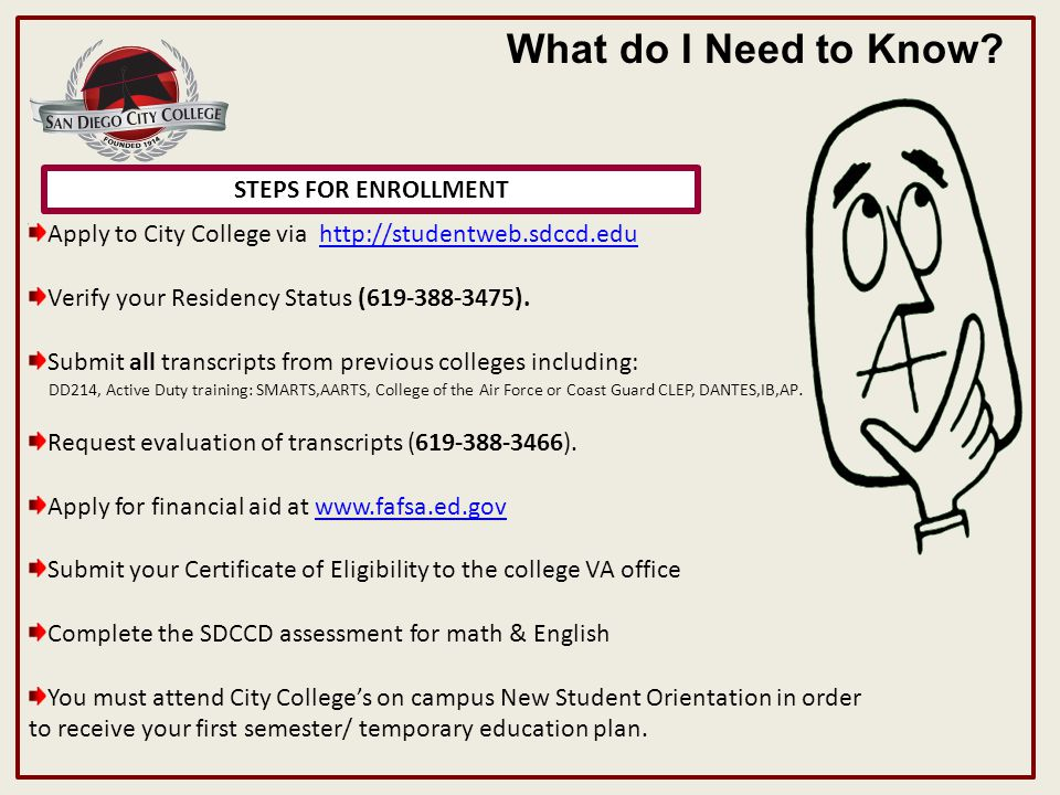 UNITS REQUIRED TO QUALIFY FOR EDUCATIONAL & TRAINING ALLOWANCE What do I Need to Know.