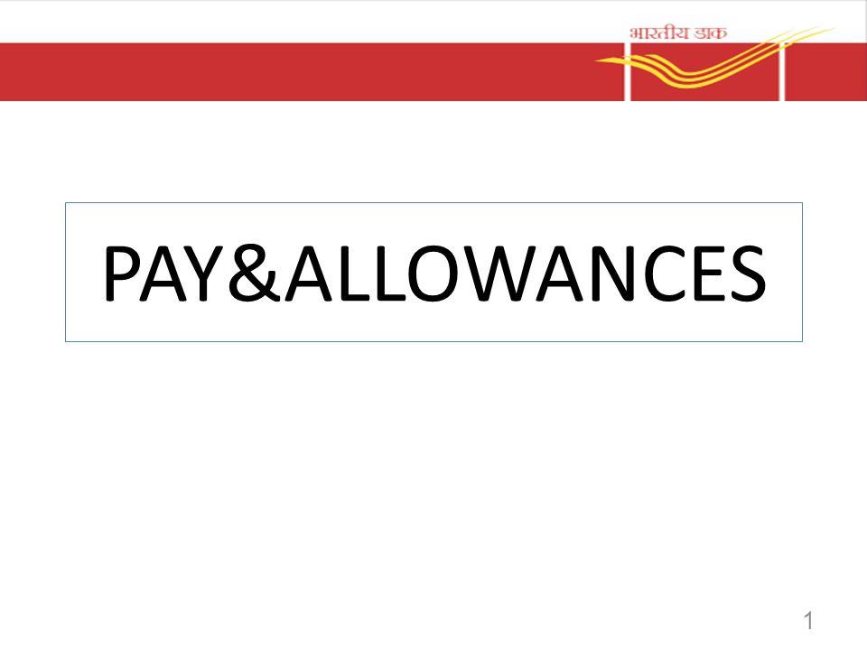 PAY&ALLOWANCES 1