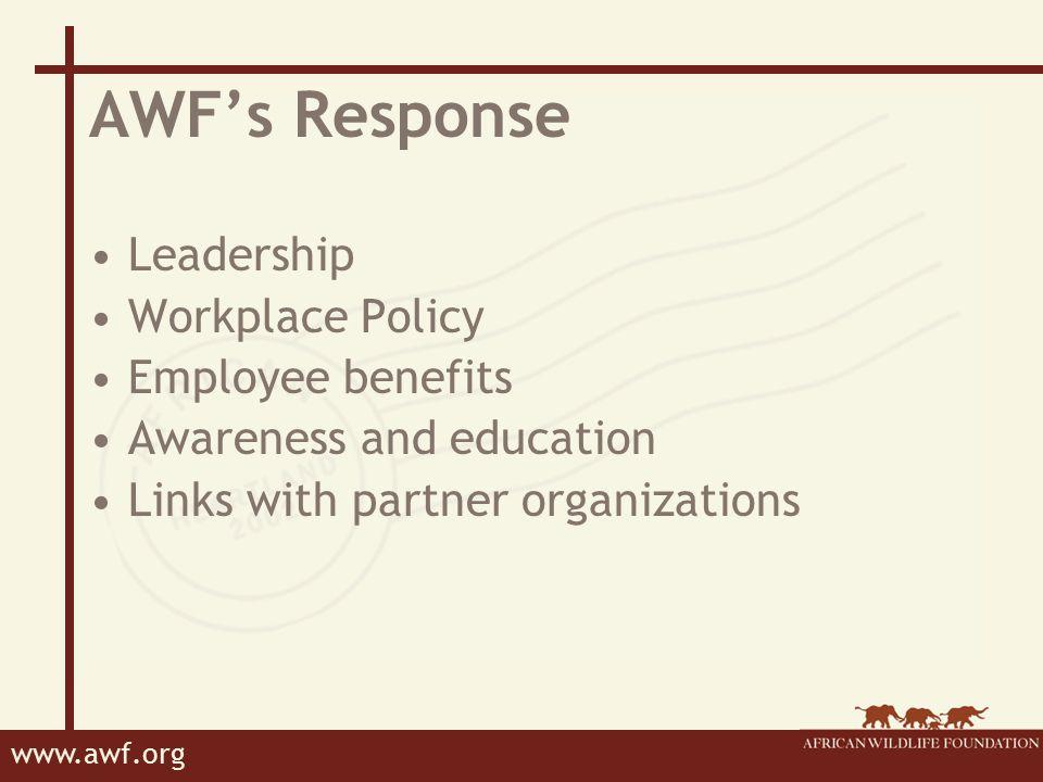 www.awf.org Display Materials