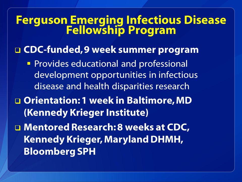 CDC ORISE Research Participation Programs  What.