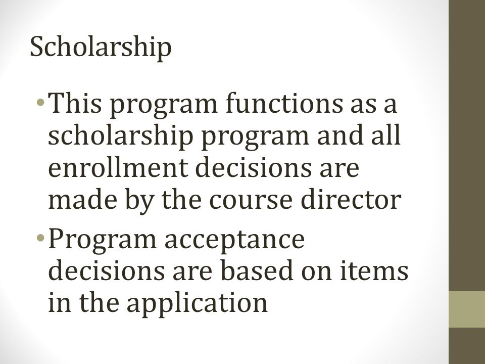 Stipend This elective includes a stipend that is funded by: Dane G Hansen Foundation H.L.