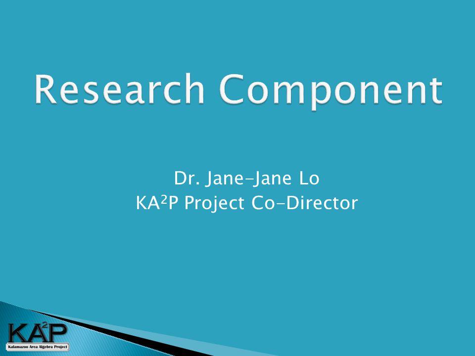  Dr. Jane-Jane Lo  KA 2 P Project Co-Director