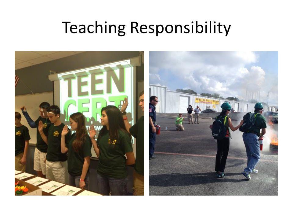 Teaching Responsibility