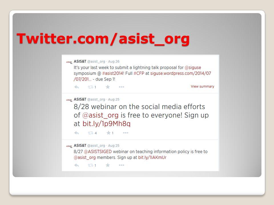 Twitter.com/asist_org