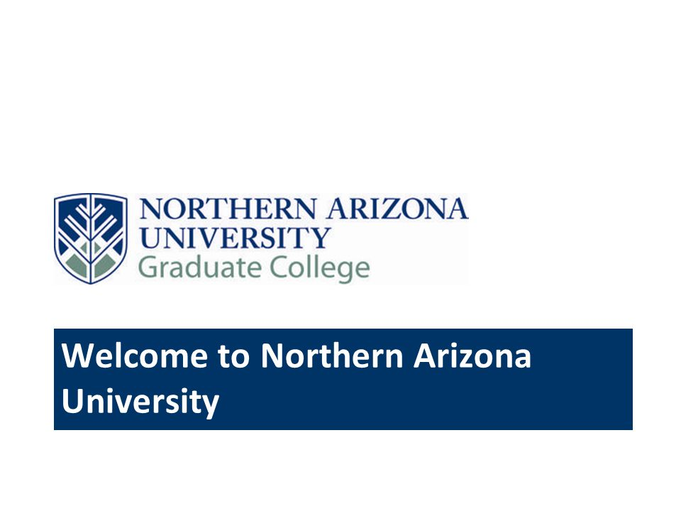 Welcome to Northern Arizona University